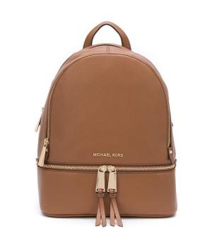 Рюкзак Michael Kors Rhea с лого шоколадный