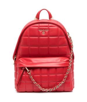 Рюкзак Michael Kors Slater с цепочкой красный