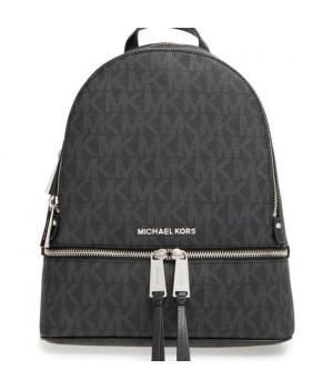 Рюкзак Michael Kors Rhea с надписями логотипа черный