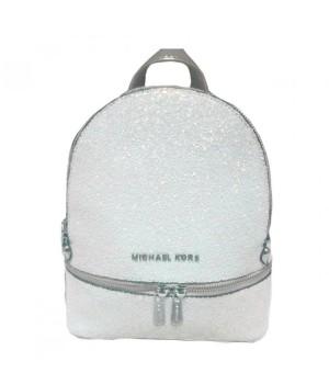 Рюкзак Michael Kors Rhea женский белый перламутр