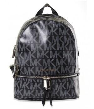 Рюкзак Michael Kors Rhea с надписями логотипа бренда черный