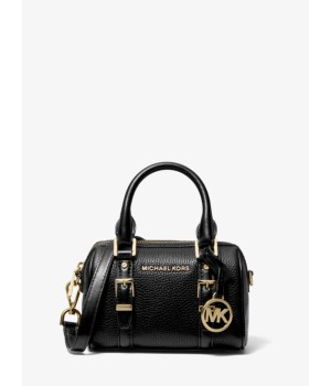 Michael Kors Bedford Legacy Extra-Small Pebbled Leather Duffle Crossbody Bag